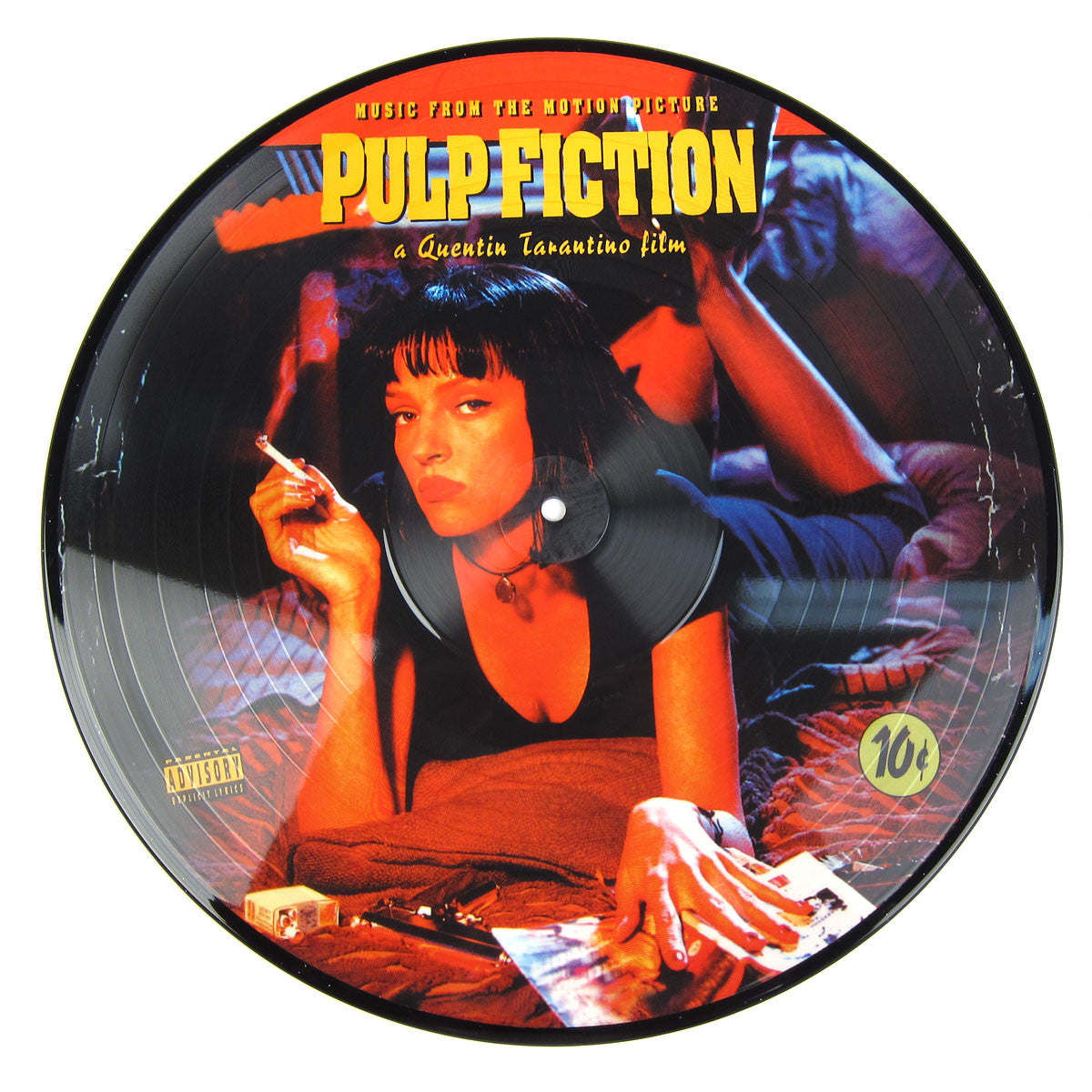 Pulp Fiction: Music From The Motion Picture (Picture Disc) Vinyl LP