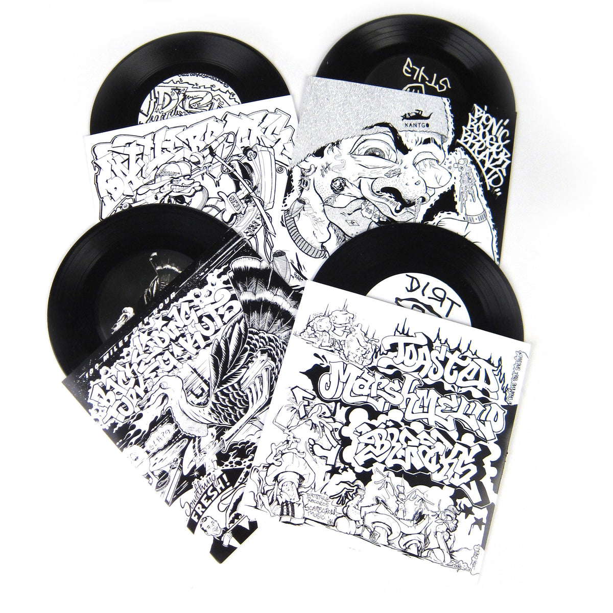 "QBert: Dirtstyle 7"" Set"