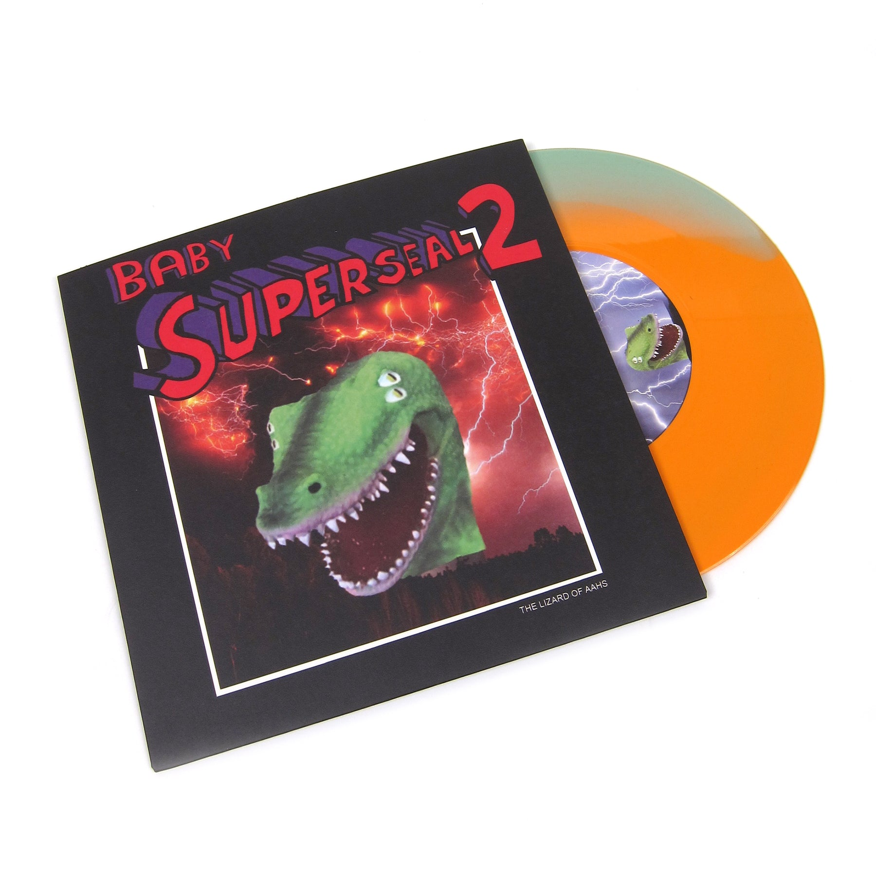 QBert: Baby Super Seal 2 (Orange U0026 Slime Green Colored Vinyl) Vinyl 7