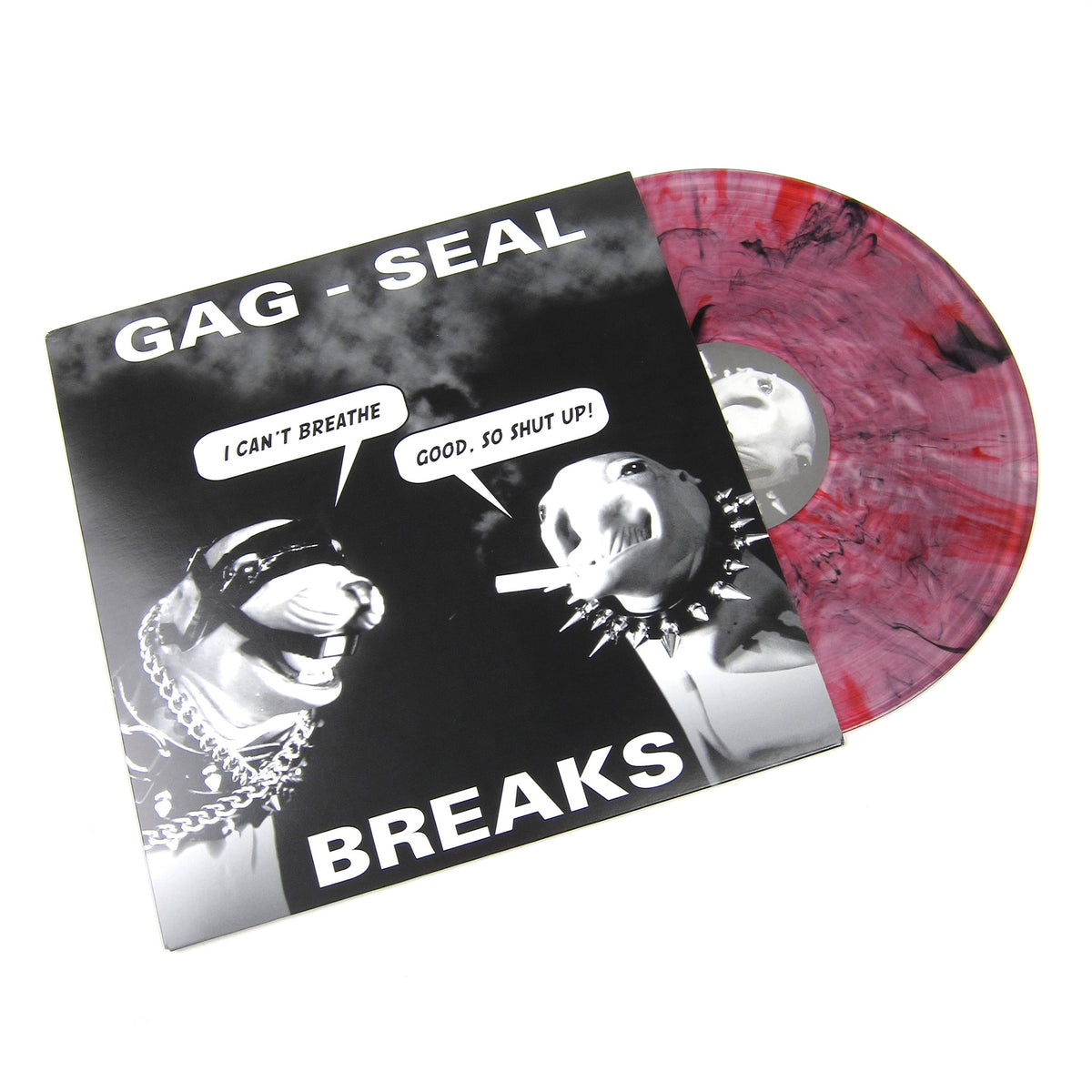QBert: Gag-Seal Breaks (High Melt Colored Vinyl) Vinyl LP