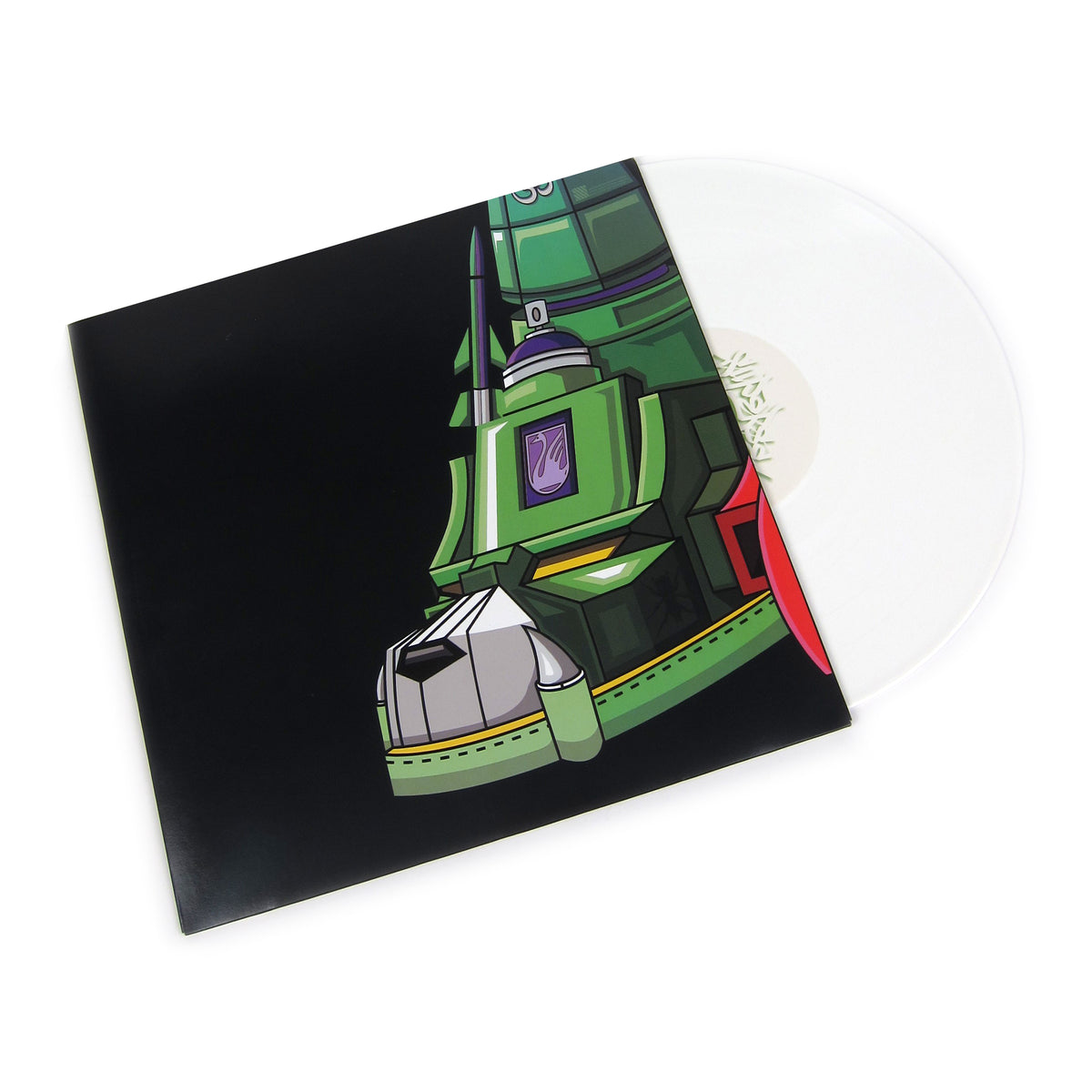 QBert: Super Seal Giant Robo V.4 (White Colored Vinyl) Vinyl LP