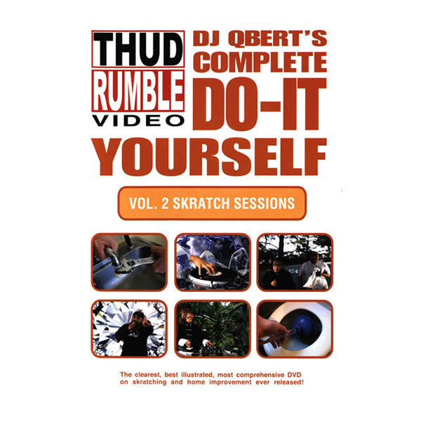 Qbert: Do It Yourself, Vol.2 - Skratch Sessions DVD