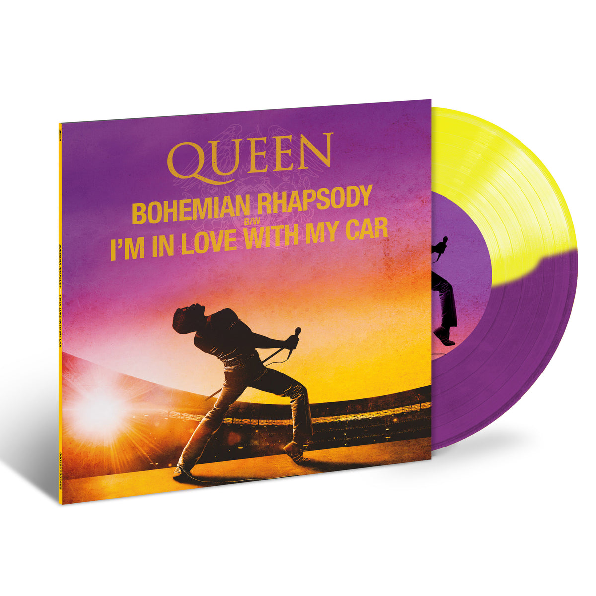 "Queen: Bohemian Rhapsody / I'm In Love With My Car (Colored Vinyl) Vinyl 7"" (Record Store Day)"