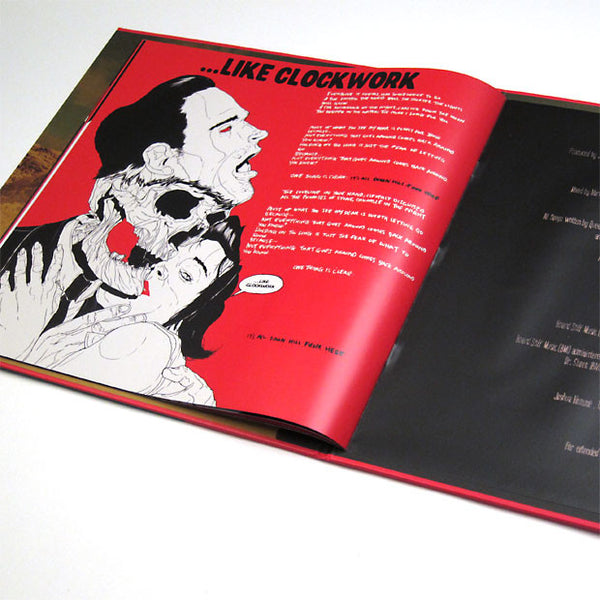Queens Of The Stone Age Like Clockwork 180g Book Free