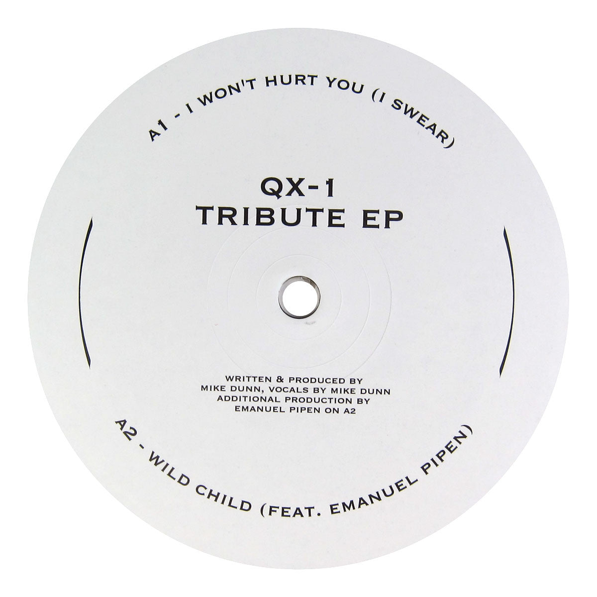 QX-1: Tribute EP (Mike Dunn) Vinyl 12""