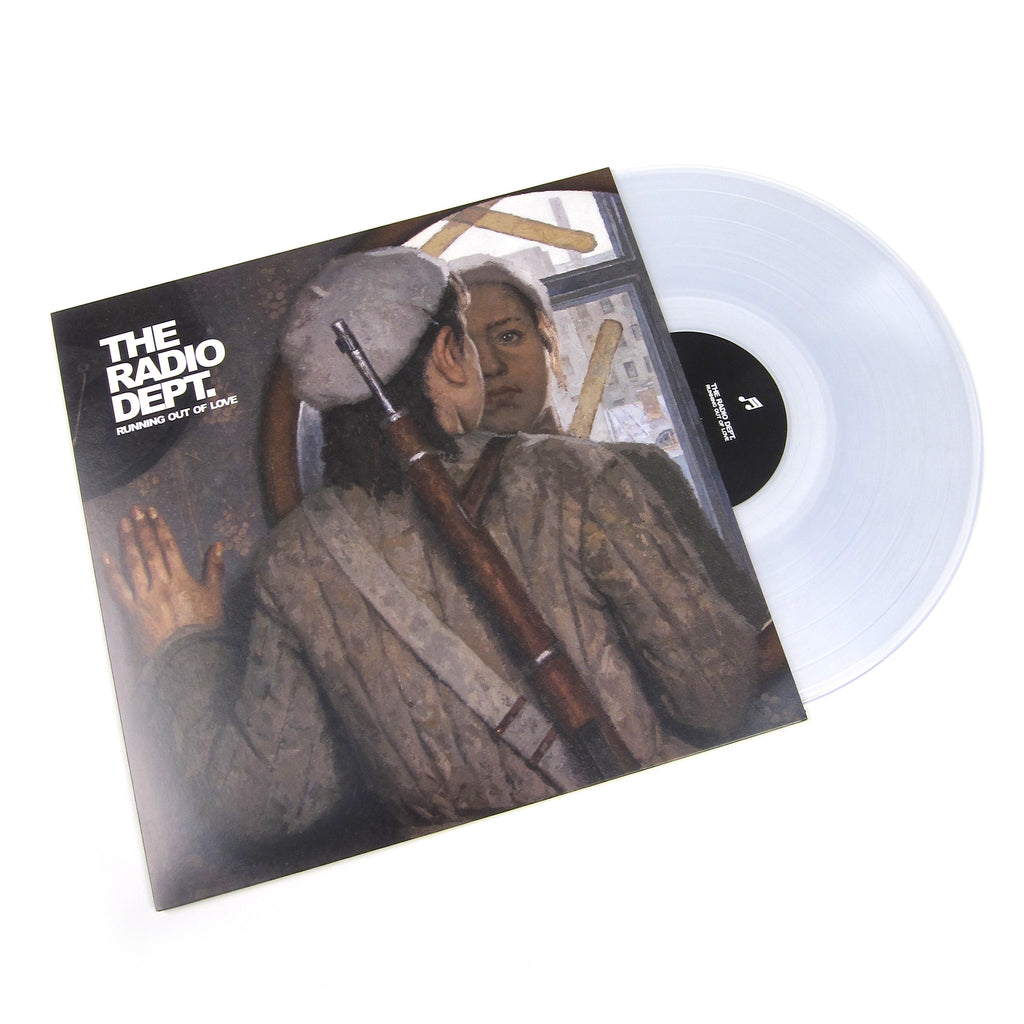 The Radio Dept Running Out Of Love Clear Vinyl Vinyl