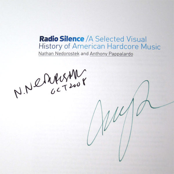 Nathan Nedorostek: Radio Silence: A Selected Visual History Of American Hardcore Music Boxset - SIGNED 4