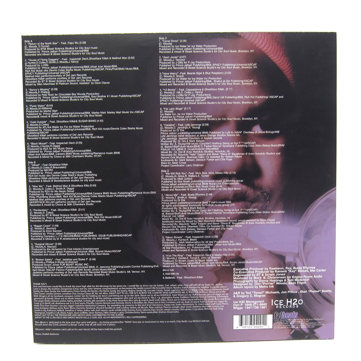 Raekwon: Only Built 4 Cuban Linx Pt.II (Colored Vinyl) Vinyl 2LP