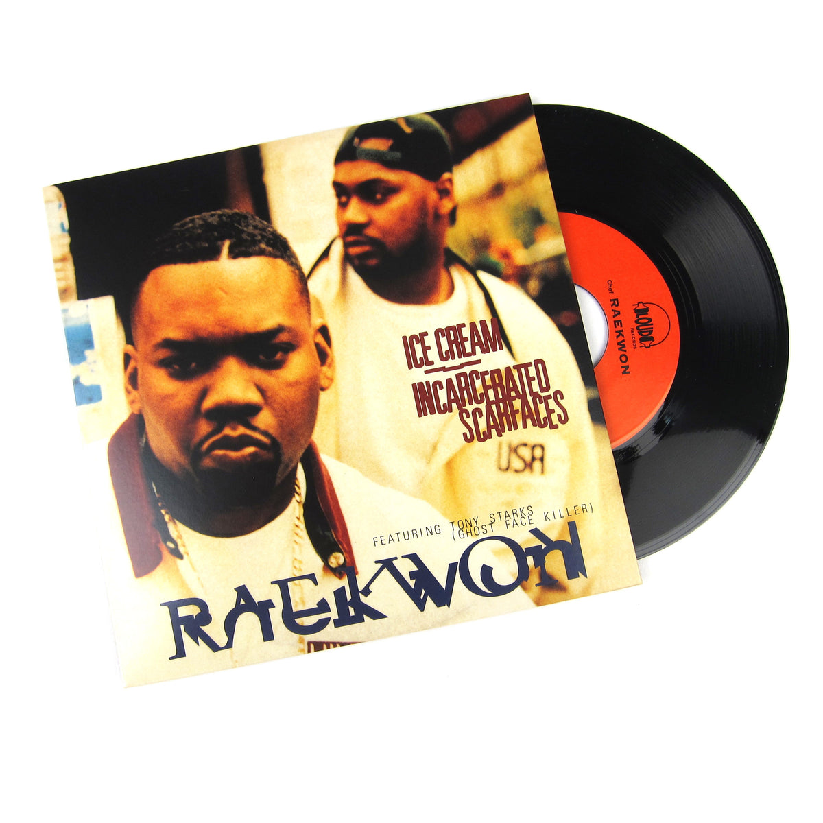 Raekwon: Ice Cream / Incarcerated Scarfaces Vinyl 7""