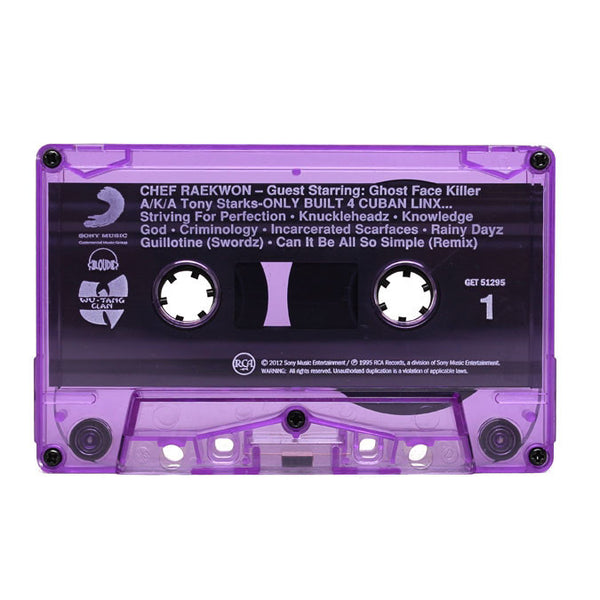 Raekwon Only Built 4 Cuban Linx Purple Tape Watch Box