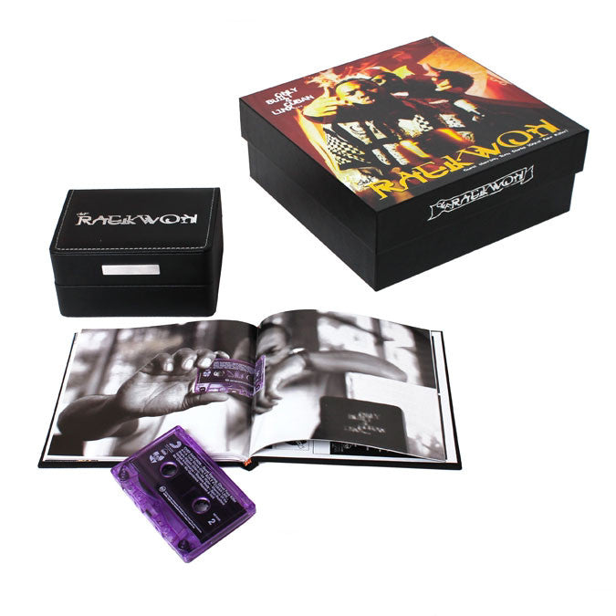 Raekwon: Only Built 4 Cuban Linx Purple Tape Watch Box Deluxe Cassette