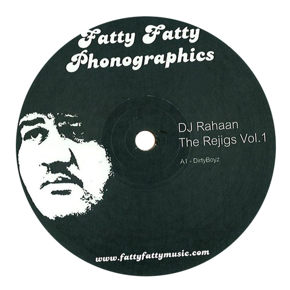 Rahaan: The Rejigs Vol.1 Vinyl 12""