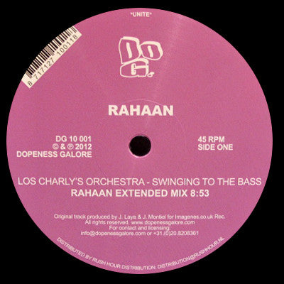 Rahaan: Swinging To The Bass 12""