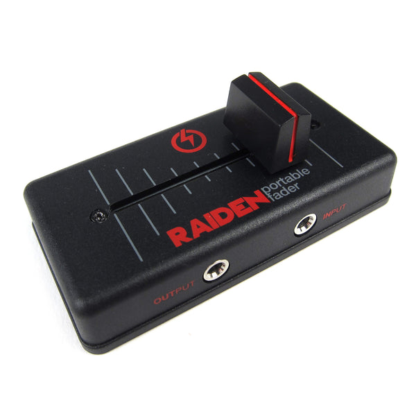 Raiden: VVT-MK1 Portable Fader - Black / Red