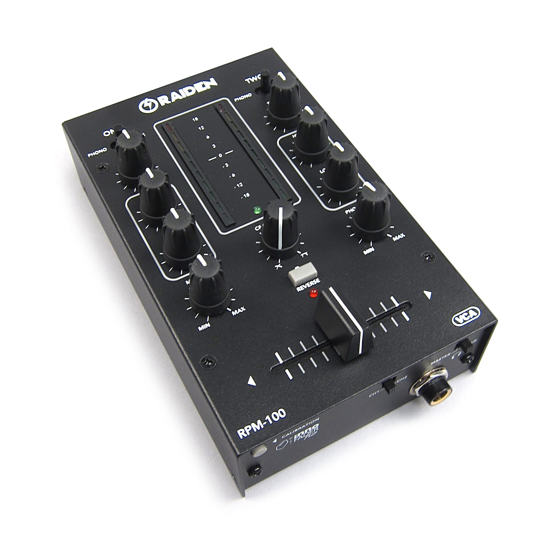Raiden: RPM-100 Portable DJ Mixer – TurntableLab com