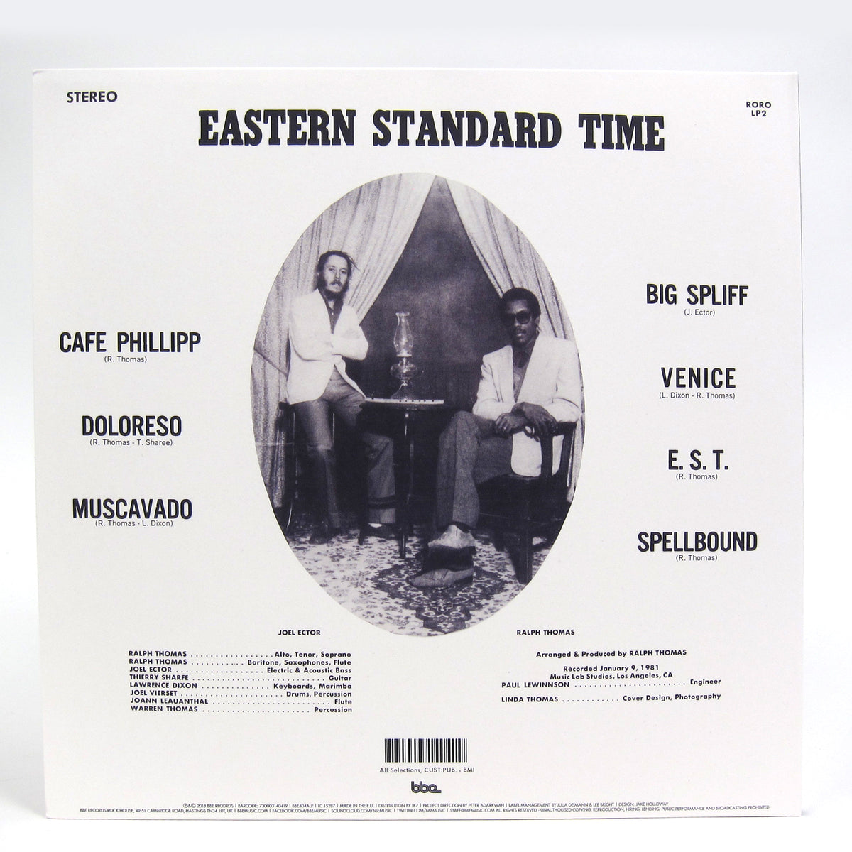 Ralph Thomas: Eastern Standard Time Vinyl 2LP