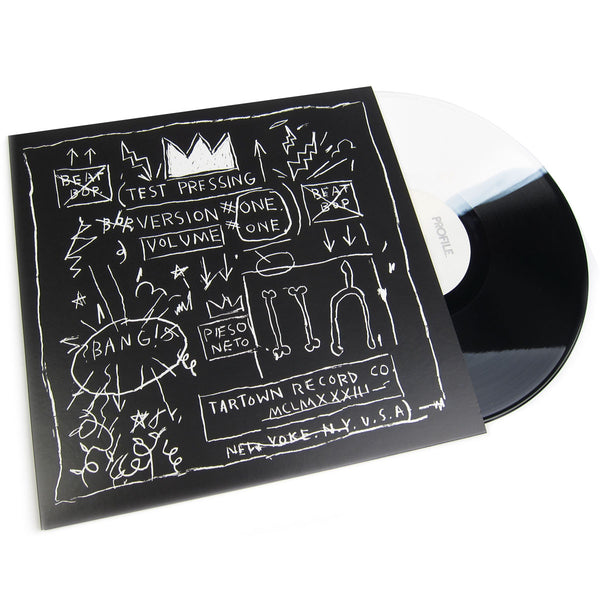 "Rammellzee vs. K-Rob: Beat Bop (Split Colored Vinyl) Vinyl 12"" (Record Store Day)"