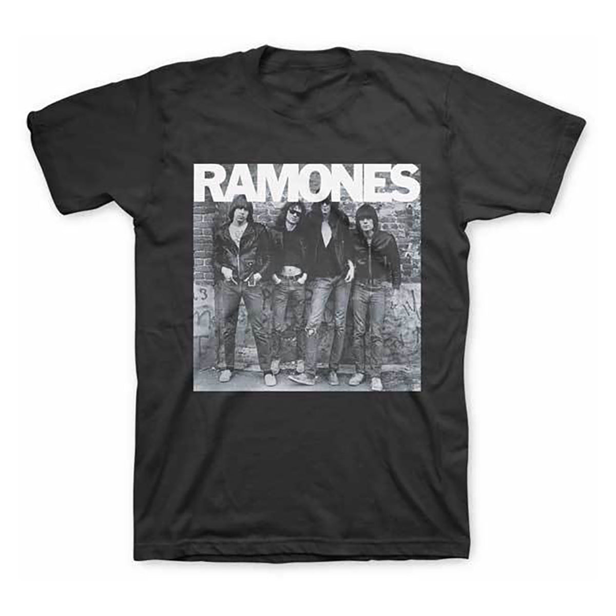 Ramones: 1st Album Cover Shirt - Black