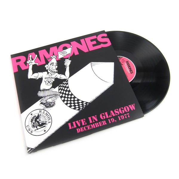 Ramones: Live In Glasgow December 19, 1977 (180g, Colored Vinyl) Vinyl 2LP (Record Store Day)
