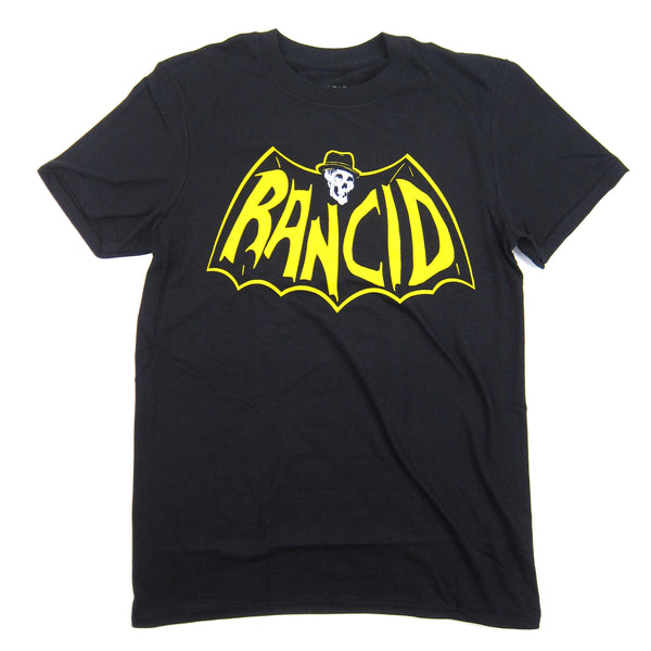 Rancid: Skele-Tim Bat Shirt - Black
