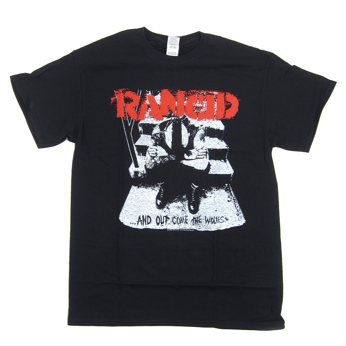 Rancid: And Out Come The Wolves Shirt - Black