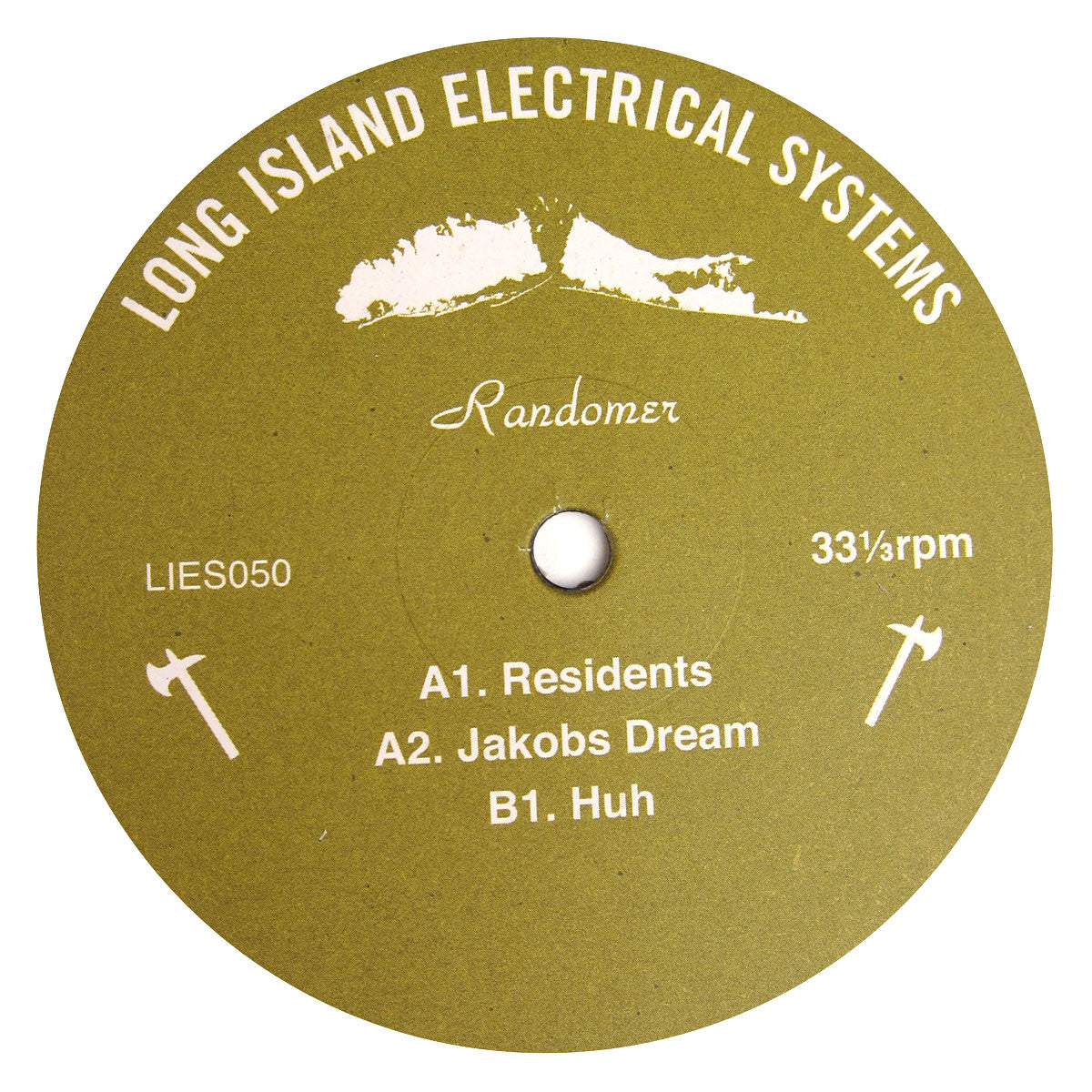 Randomer: Residents / Huh Vinyl 12""
