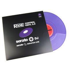 Serato: Serato Scratch Live Control Vinyl 2.5 (Single) - Purple