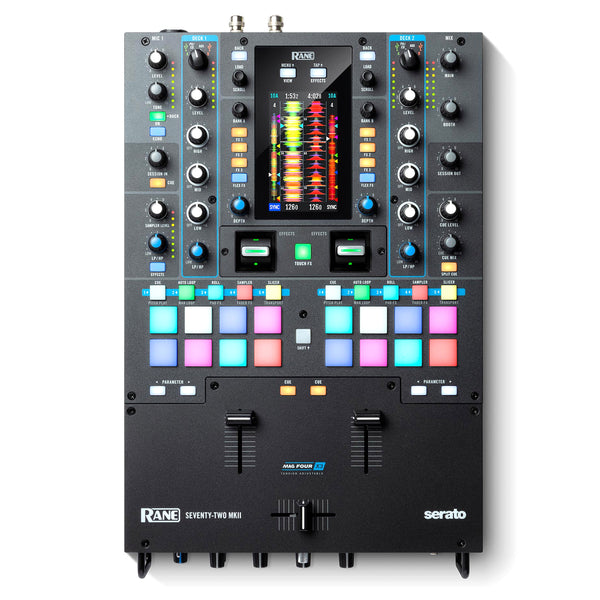Rane: Seventy-Two MKII 2-Channel Serato Performance Mixer w/ Touchscreen
