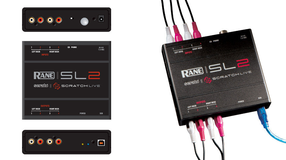 Rane SL2 Interface Details