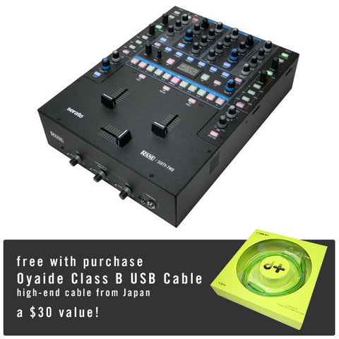 Rane: Sixty-Two Serato Mixer + FREE Oyaide USB Cable
