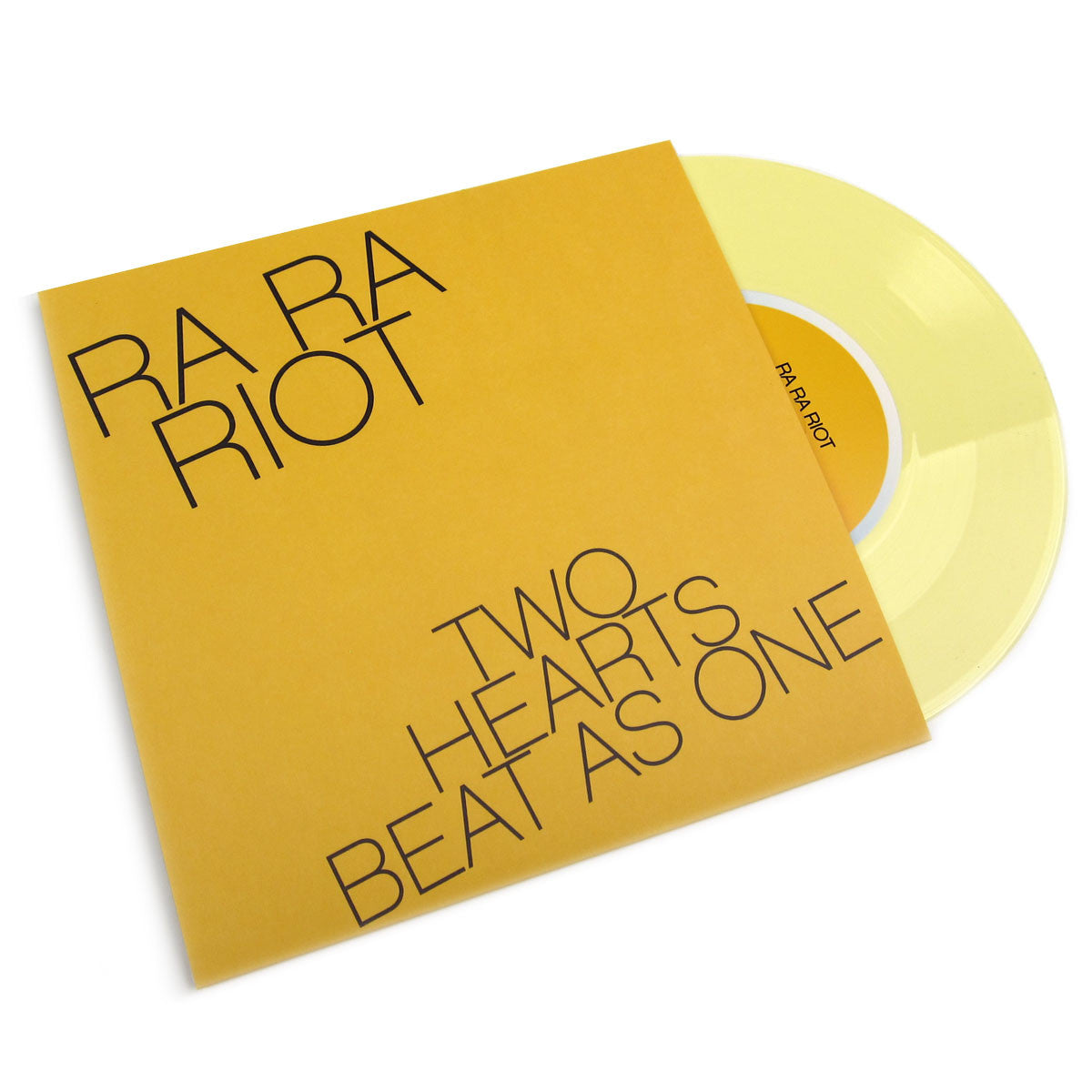 "Ra Ra Riot: Two Hearts Beat As One / Wilderness (Colored Vinyl) Vinyl 7"" (Record Store Day)"