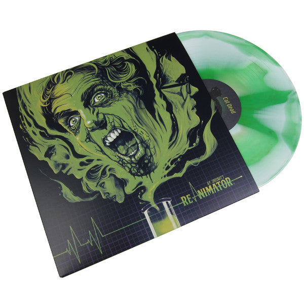 Richard Band: Re-Animator Original Score (180g, Colored Vinyl) Vinyl LP