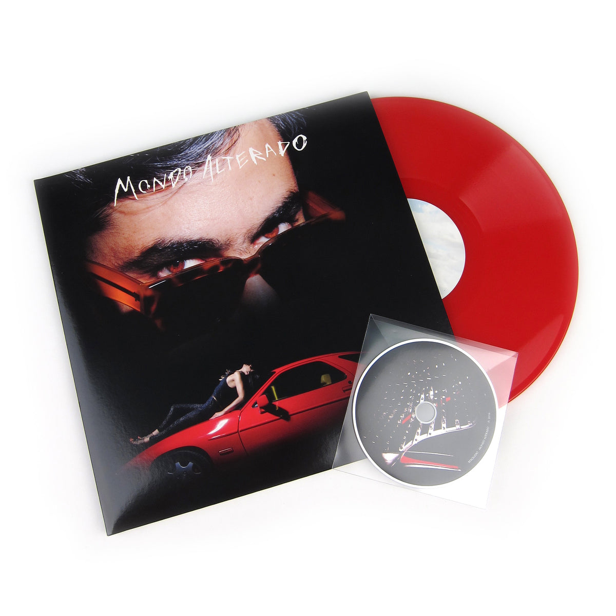 Rebolledo: Mondo Alterado (Colored Vinyl) Vinyl 3LP+CD