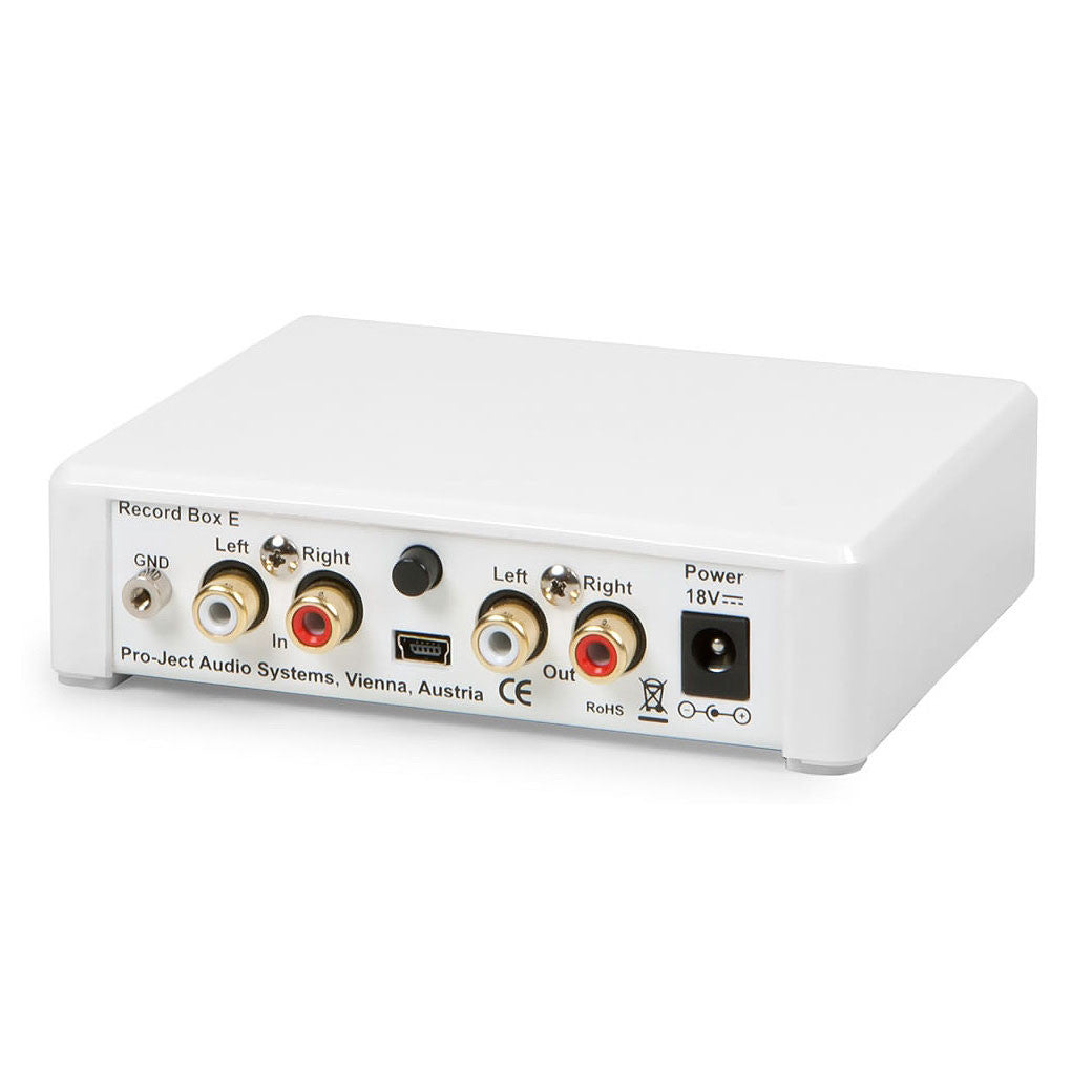Pro-Ject: Record Box E USB Phono Preamp - White