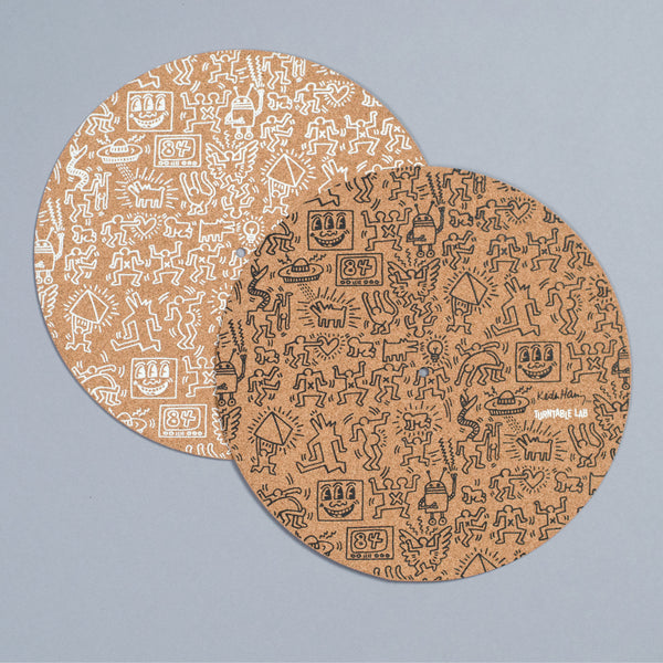 Turntable Lab: Keith Haring Cork Record Mat