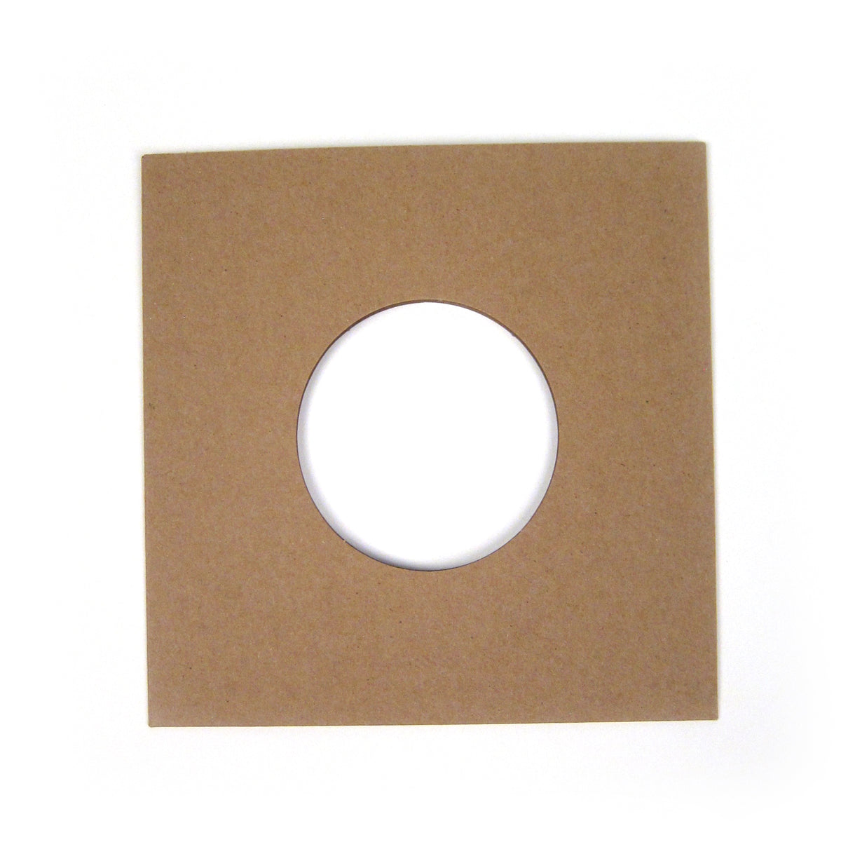 "Record Supply Co: 7"" Outer Jacket - Kraft Brown (10 Units)"