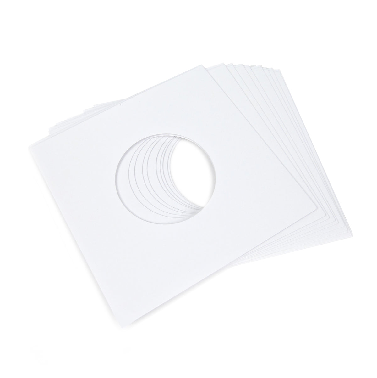 "Record Supply Co: 7"" Outer Jacket - White (10 Units)"