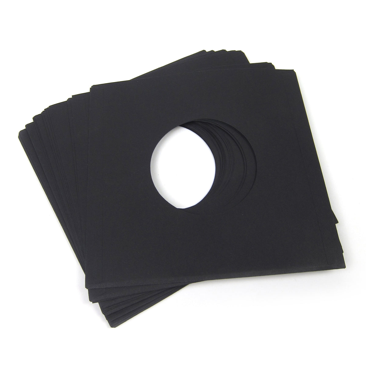 "Record Supply Co.: 7"" Paper Inner Sleeves - Black (20 Units)"