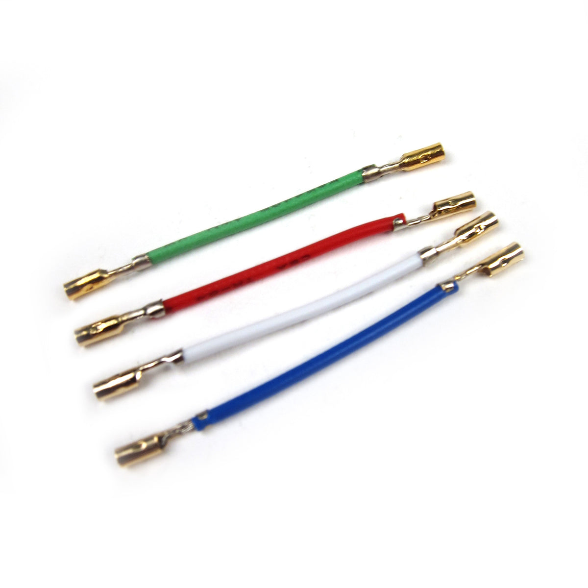 Record Supply Co.: Headshell Lead Wires - Gold