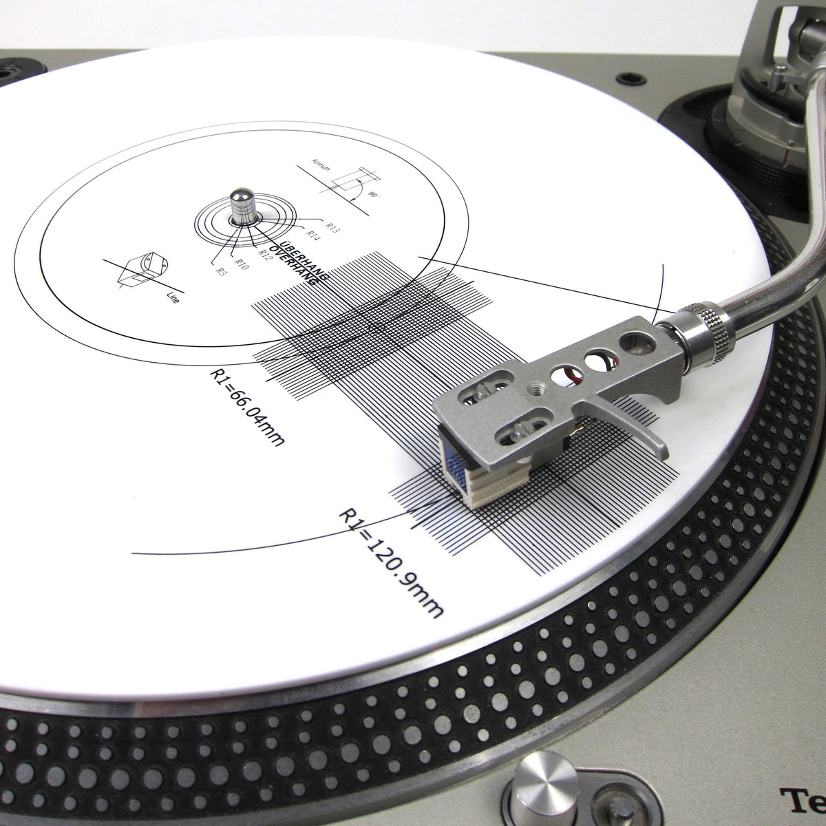 Record Supply Co.: Stroboscope Disc / Cartridge Alignment Turntable Mat