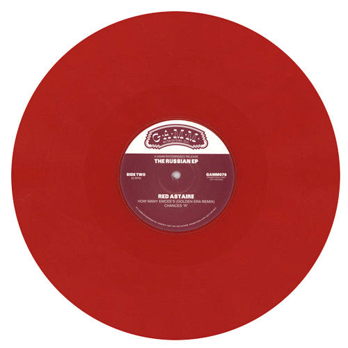 Red Astaire: The Russian (Colored Vinyl, Black Moon, Bob Marley) 12""