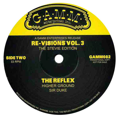 Reflex: Revisions Vol. 3 (Stevie Wonder) 12""
