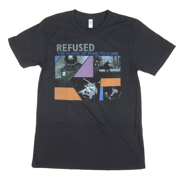 Refused The Shape Of Punk To Come Shirt Black
