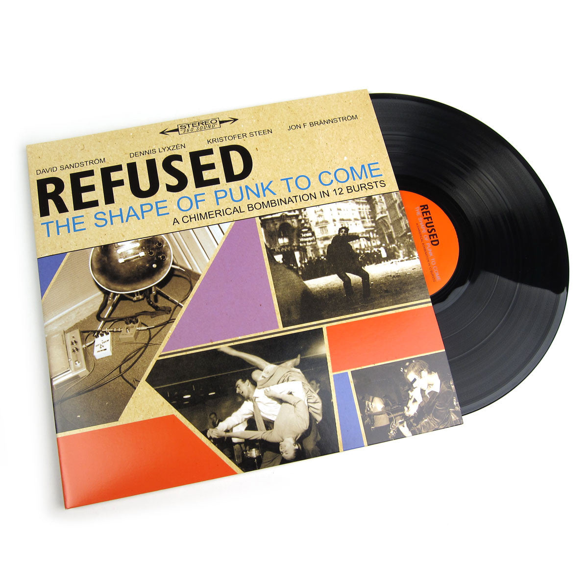 Refused The Shape Of Punk To Come Vinyl 2lp