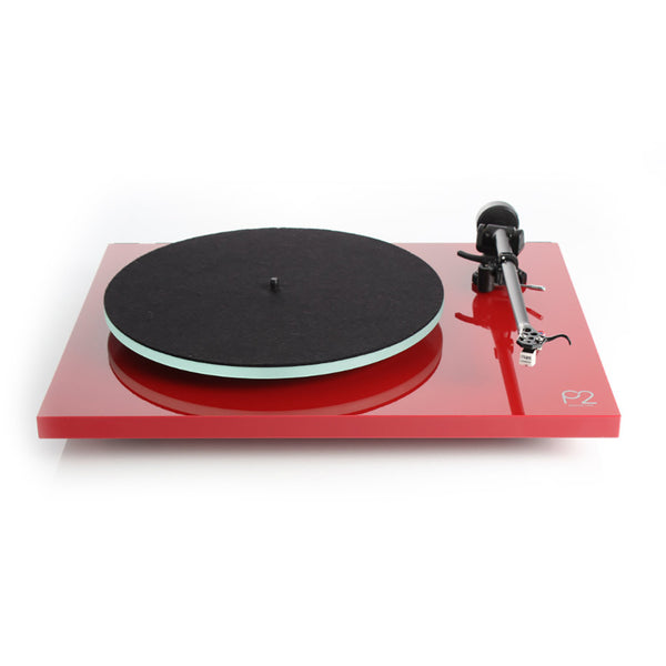 Rega: Planar 2 Turntable - Gloss Red