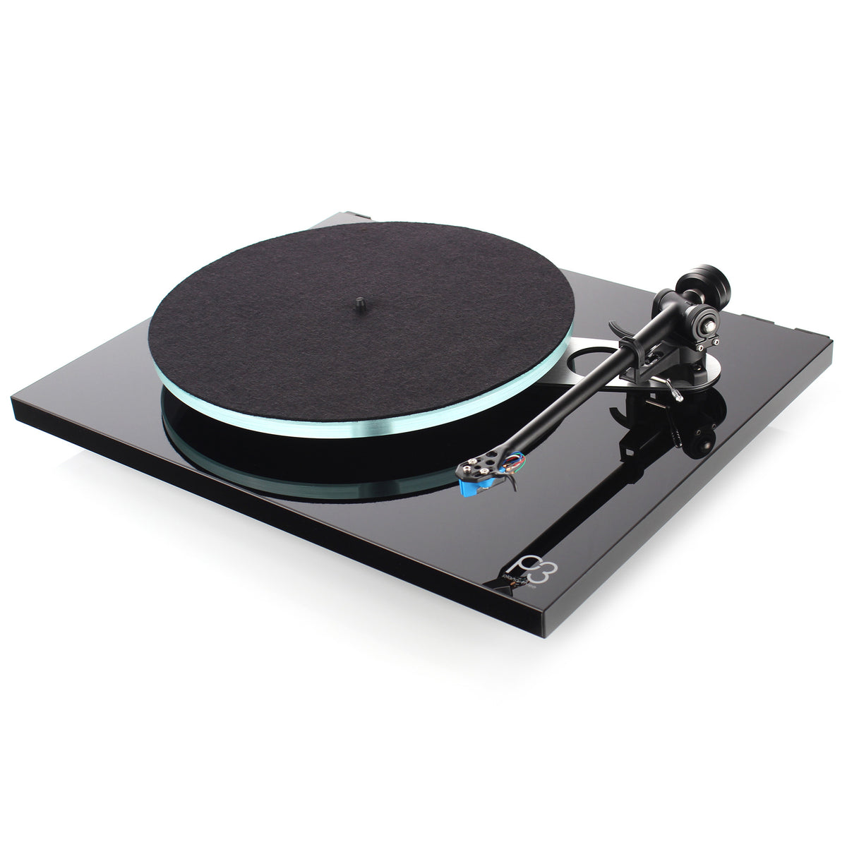 Rega: Planar 3 Turntable w/ Elys 2 - Black