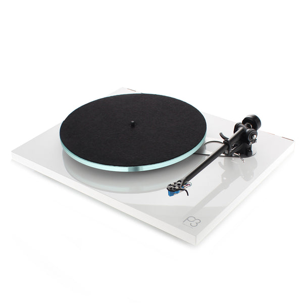 Rega: Planar 3 Turntable w/ Elys 2 - White
