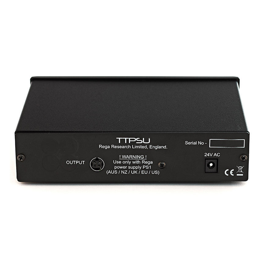 Rega: TT-PSU Speed Changer / Power Supply - Black