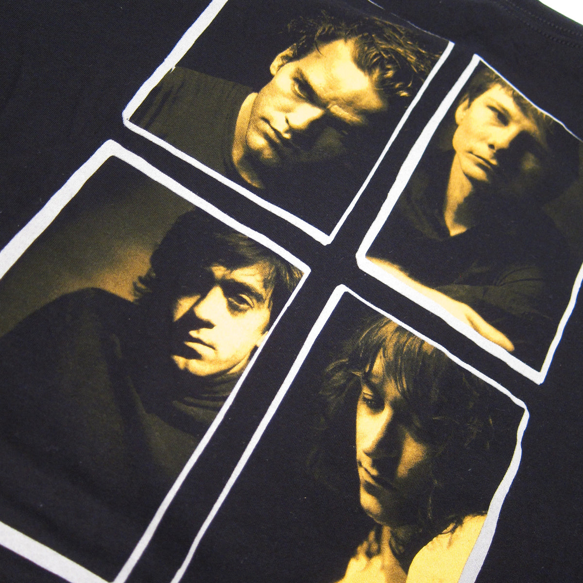 R.E.M.: Athens Postcard Shirt - Black (Size Small Only)