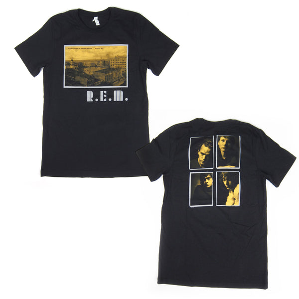 R.E.M.: Athens Postcard Shirt - Black
